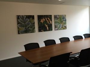 Sitzungszimmer klein grün